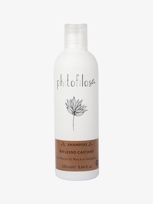 Shampoo Riflesso Castano con Mallo e Indigofera – Ecobio Capelli