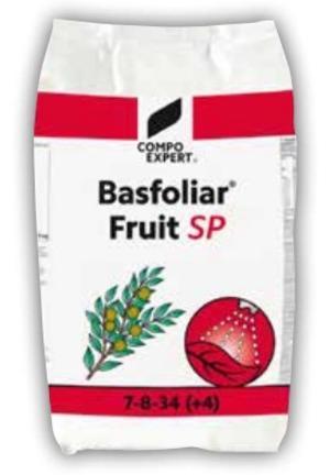 Concime Basfoliar Fruit SP 7.8.34 5 Kg