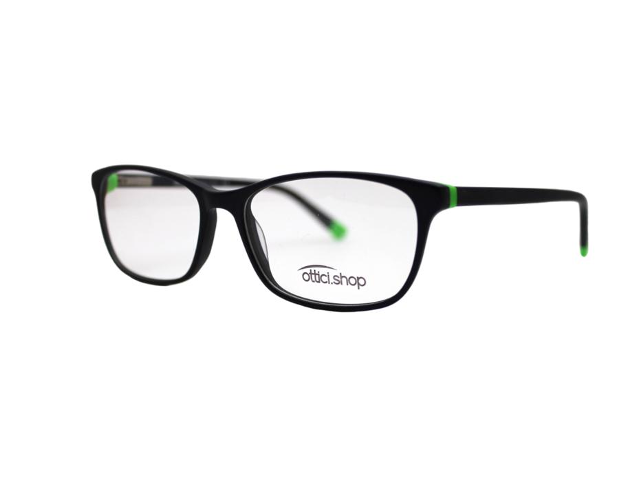 Montatura in plastica OcchialeAmico OSH 03 Blu - Lenti da vista incluse -
