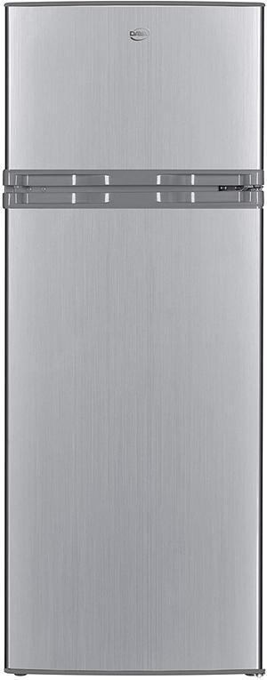 DAYA frigorifero doppia porta 217lt A+ SILVER DDP-28NH20S