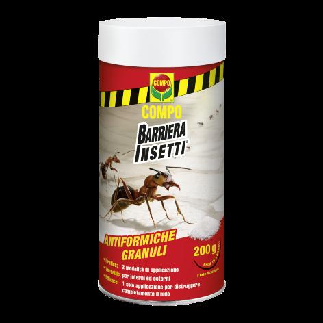 Anti Formiche in Granuli Compo Disponibile nei formati 200 - 500 gr