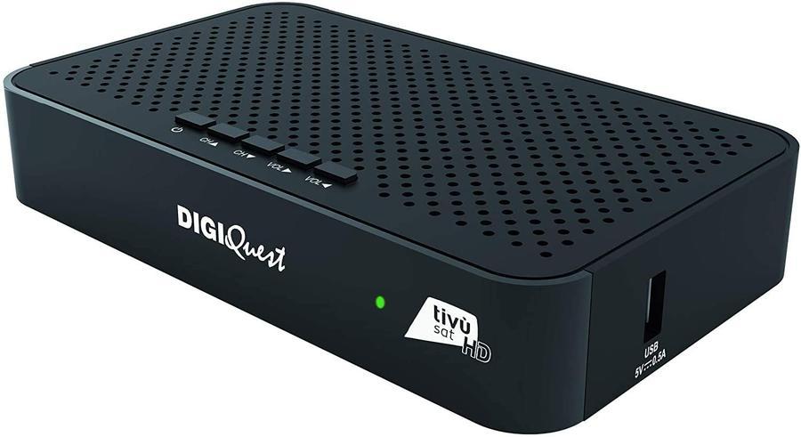 DIGIQUEST TV SAT CLASSIC Q30 Funzione di Videoregistratore in HD