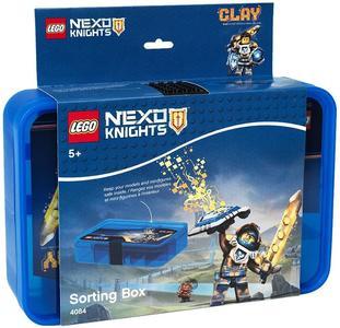 Contenitore Lego Nexo Knights con 11 Scomparti Blu
