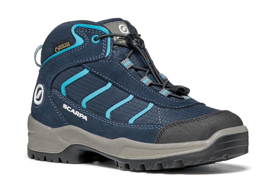SCARPA - Mistral Kid GTX - Navy Turquoise