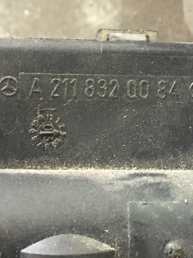Valvola Acqua Riscaldamento/ Scambio Calore Mercedes W211-Classe E - A2118320084