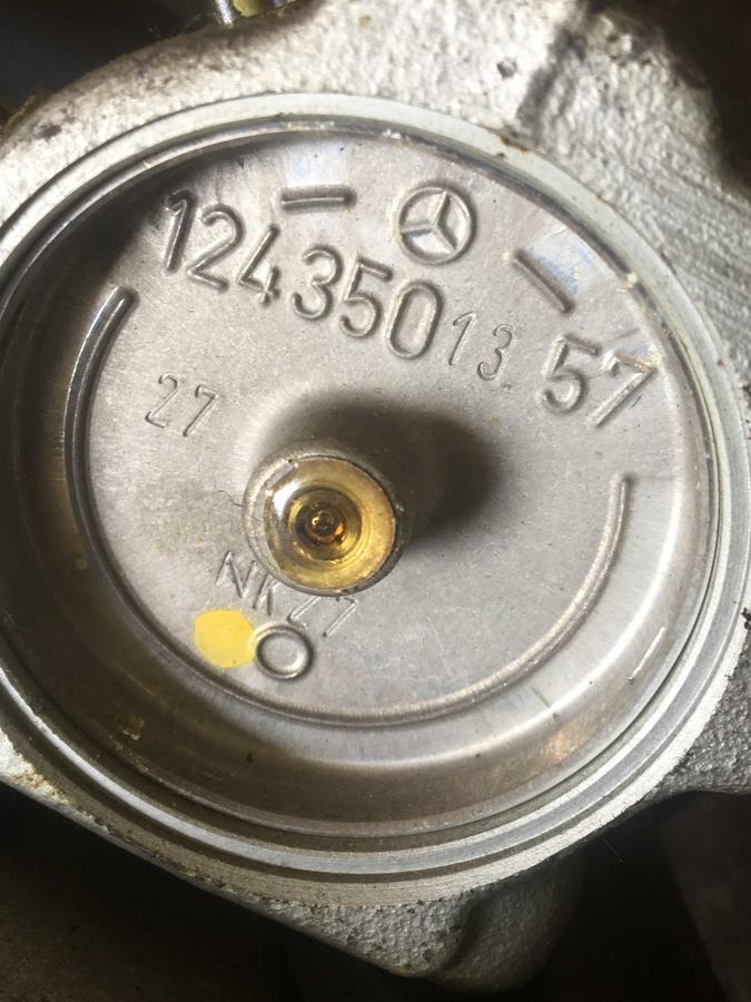 Valvola ASD di Controllo/ Regolazione Livello Sospensioni Mercedes W124-Classe E - 1243501357 - 1243503457