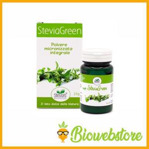 SOLD-OUT Stevia Green Bio polvere micronizzata 50g