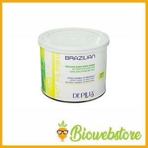 Cera depilatoria senza striscie Brazilian liposolubile elastica