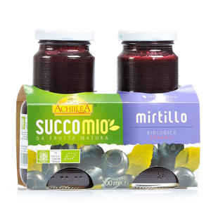 Succo mio mirtillo, Achillea, 2x200 ml