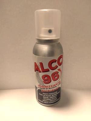 Igienizzante Spray Alco 96 100 ml