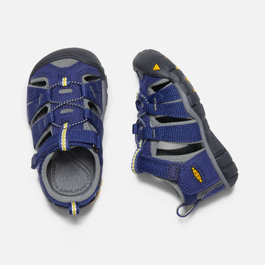 KEEN - Seacamp II CNX Sandals - Blue Depths/Gargoyle