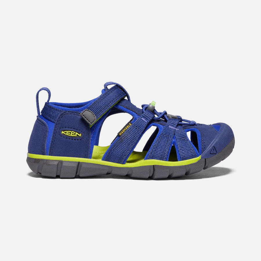 KEEN - Seacamp II CNX Sandals - Blue Depths / Chantreuse