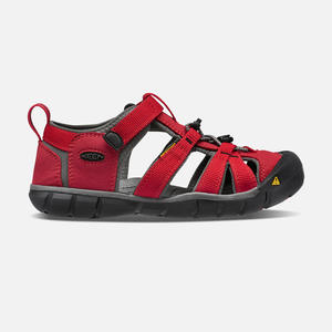 KEEN - Seacamp II CNX Sandals - Racing Red / Gargoyle