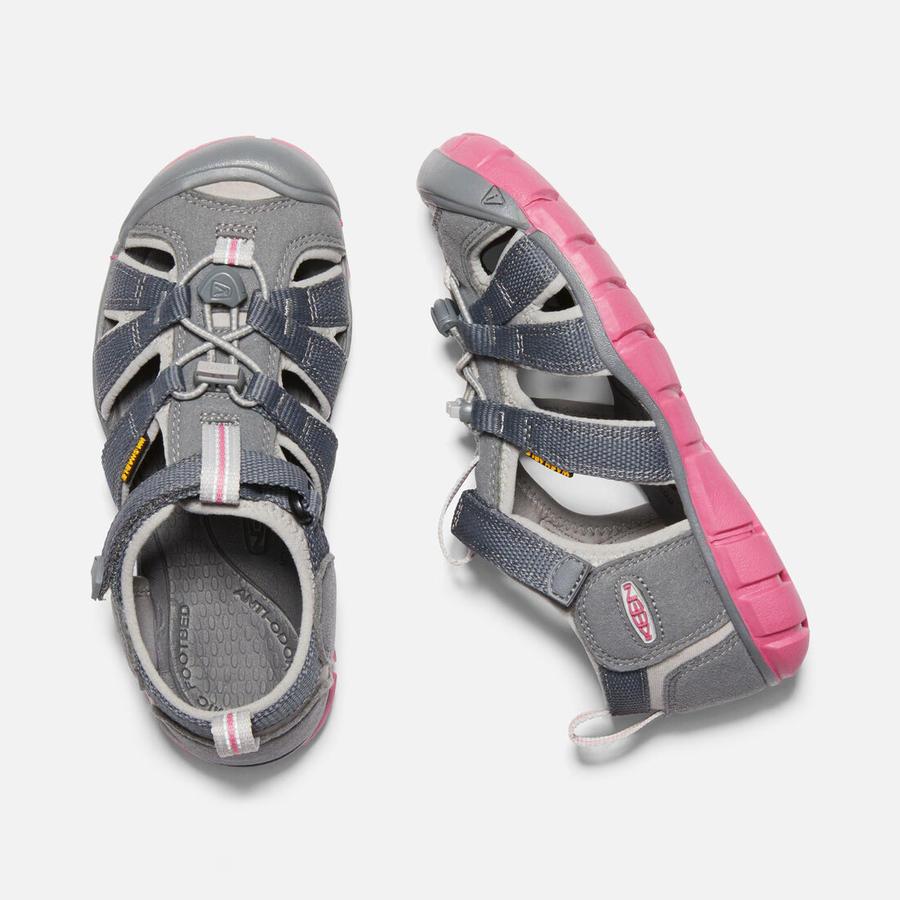 KEEN - Seacamp II CNX Sandals - Steel Grey / Rapture Rose