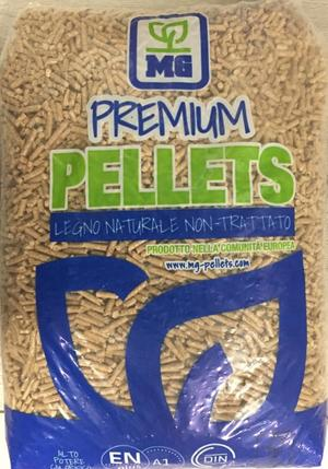 Pellet Premium Blu 15 Kg/Bancale