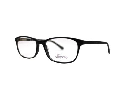 Montatura in plastica OcchialeAmico OSH 03 Black - Lenti da vista incluse -
