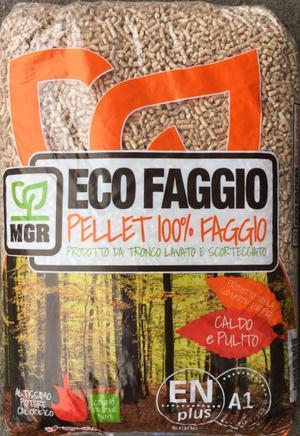 Pellet Ecofaggio 15 Kg/Bancale