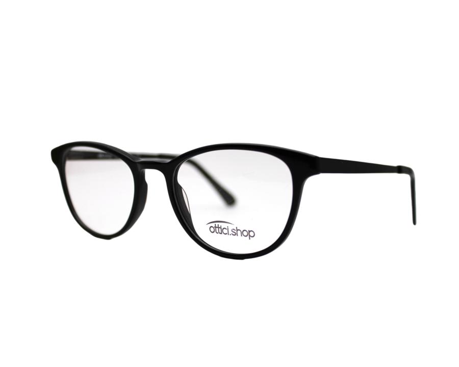 Montatura in plastica OcchialeAmico OSH Black - Lenti da vista incluse -