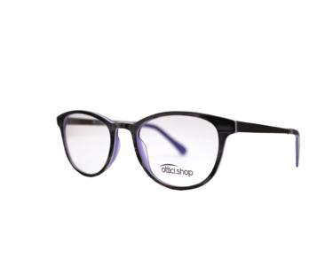 Montatura in plastica Ottici Shop OSH Wood Violet - Lenti da vista incluse -