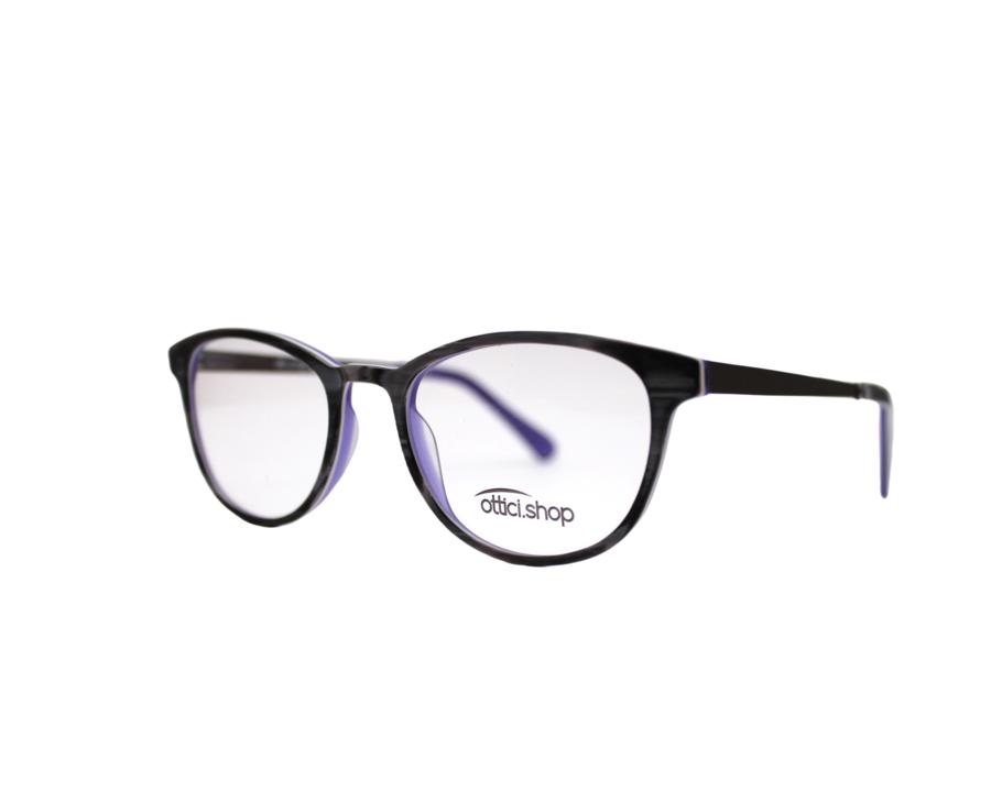 Montatura in plastica OcchialeAmico OSH Wood Violet - Lenti da vista incluse -