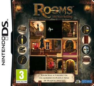 Rooms: The Main Building NUOVO! - Nintendo DS - Ver. ITA