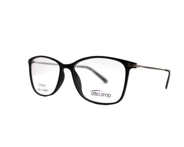 Montatura in plastica OcchialeAmico OSH 06 Black  - Lenti da vista incluse -