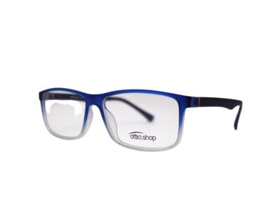 Montatura in plastica OcchialeAmico OSH 23 Crystal Blu - Lenti da vista incluse -