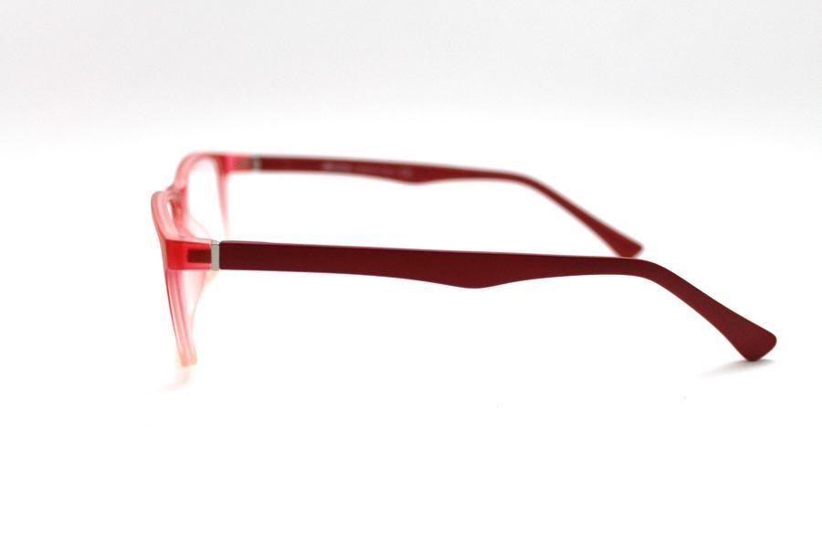 Montatura in plastica Ottici Shop OSH 23 Crystal Red - Lenti da vista incluse -