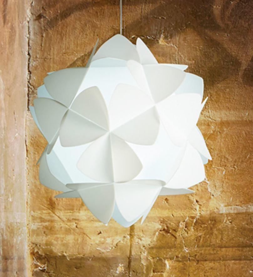 Lampada a Sospensione Cotton Light di Emporium in Sandylex, Varie Misure e Finiture – Offerta di Mondo Luce 24