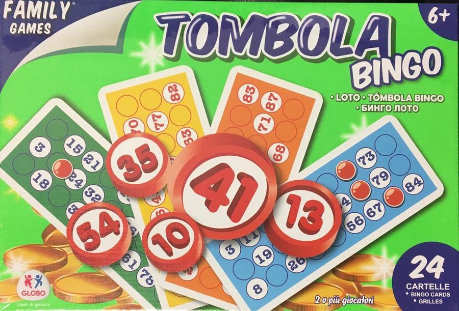 Tombola gioco - Globo 237 - 6+ anni