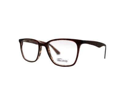 Montatura in plastica OcchialeAmico OSH 24 Marrone - Lenti da vista incluse -