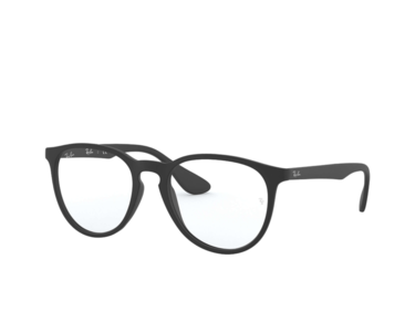 Montatura in plastica Ray Ban 7046V 5364 Rubber black - Lenti da vista incluse -