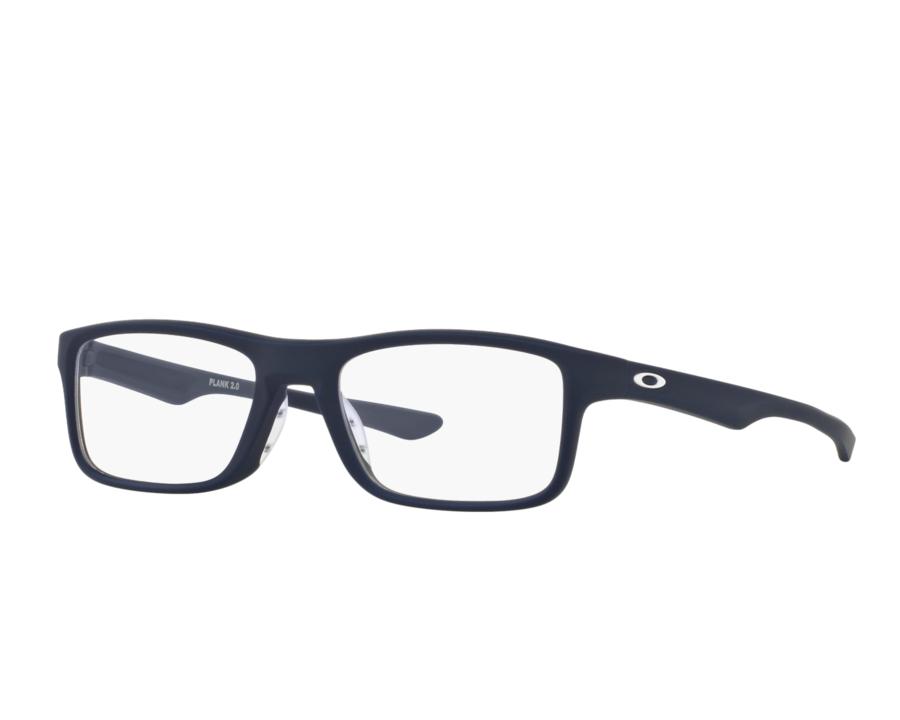Montatura in plastica Oakley  Plank 2.0 OX8081-03- Lenti da vista incluse -