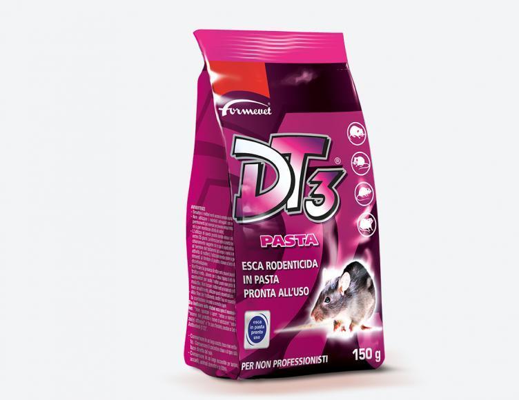 Esca Topicida DT3 Pasta Busta da 150 gr - 1,5 Kg