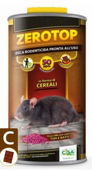 Esca Topicida Zerotop 50Cacao 1,5 Kg
