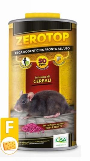 Esca Topicida Zerotop 50Formaggio 1,5 Kg