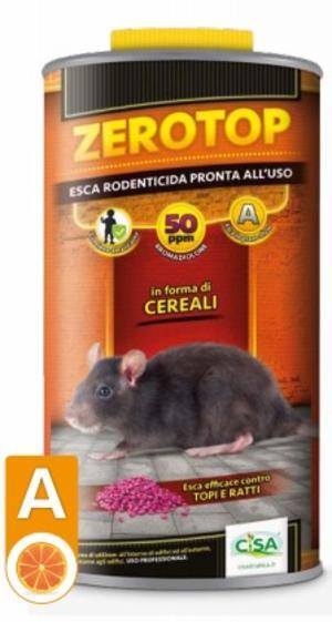 Esca Topicida Zerotop 50Arancia 1,5 Kg