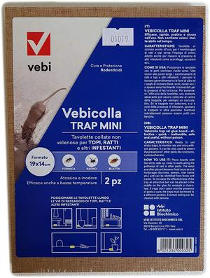 Tavoletta Topicida 19x14 2 pezzi Vebicolla