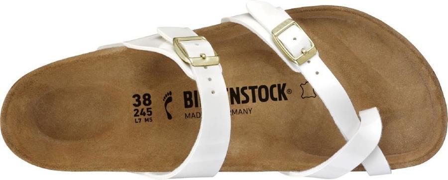 Birkenstock - Mayari - White Patent suola Bianca