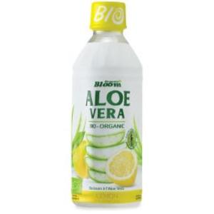 Bevanda a base di aloe vera - gusto limone, Organic bloom, 350 ml