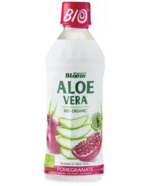 Bevanda a base di aloe vera - gusto melograno, Organic bloom, 350 ml