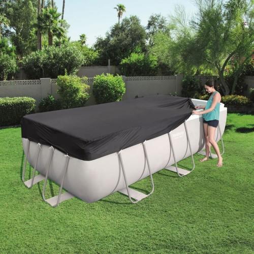 Telo copertura piscina rettangolare cm 414 x 201 mod Bestway 58232