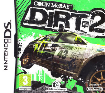 Colin Mc Rae Dirt 2 NUOVO - Nintendo DS - Ver.ITA