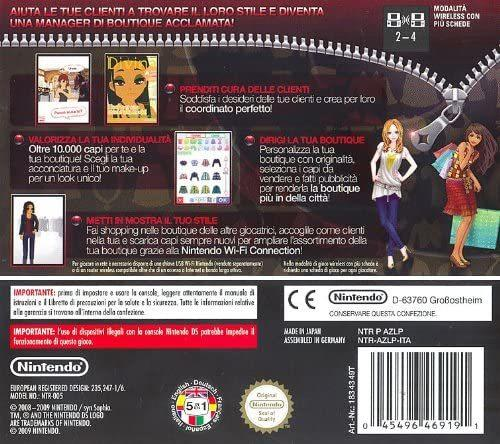 Style Boutique NUOVO - Nintendo DS - Ver.ITA