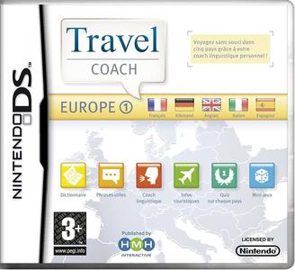 Travel Coach - Europe 1 NUOVO - Nintendo DS - Ver.ITA