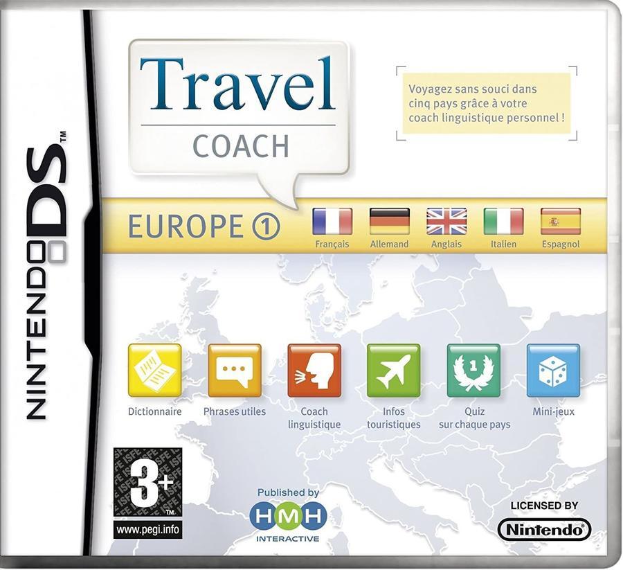 Travel Coach - Europe 1 NUOVO - Nintendo DS - Ver.ITA