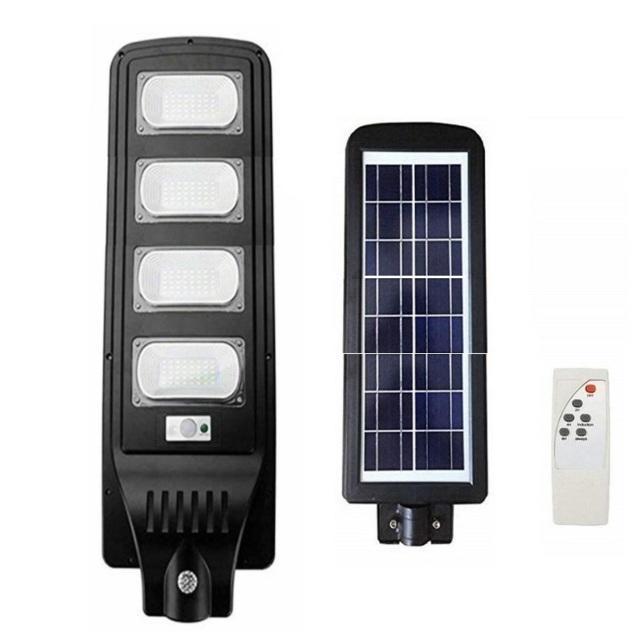Lampione stradale led 120w pannello solare fotovoltaico