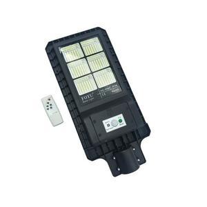 Lampione stradale led 180w pannello solare fotovoltaico telecomando