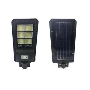 Lampione stradale led 180w SMD pannello solare fotovoltaico telecomando