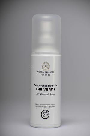 Deodorante naturale al the verde bio